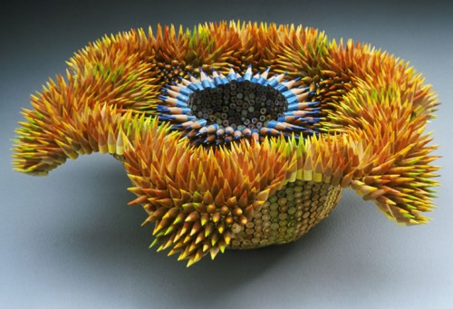 Aurora 500x341 The amazing pencil sculptures of Jennifer Maestre